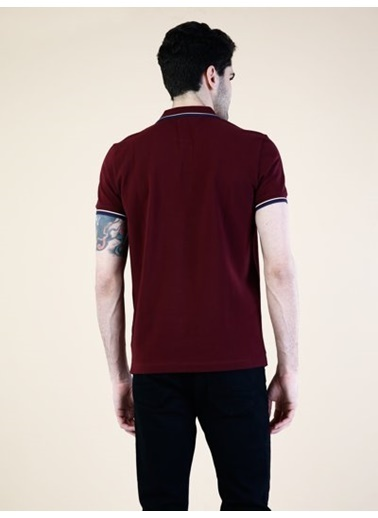 Colin's Polo Yaka Tişört Bordo